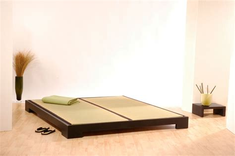 japanische matratzen massivholzbett tokio bett erle schwarz 160x200 tatamibett