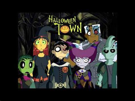 teen titans halloween youtube