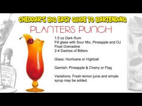 planters punch recipe cheddar s cocktail recipes planters punch