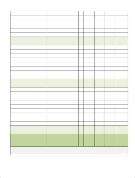 free construction estimate template download download