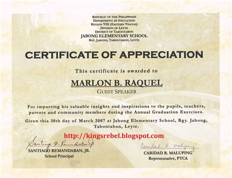 examples of certificates of appreciation wording complete guide