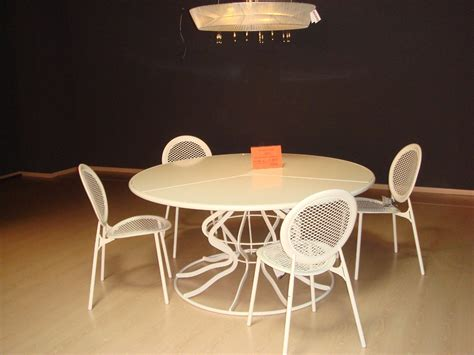 emu tavoli giardino tavolo emu giardino minuetto completo di sedie scontato