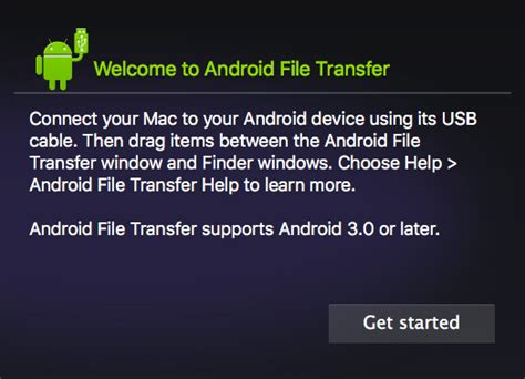 android mac file transfer mithun on the net