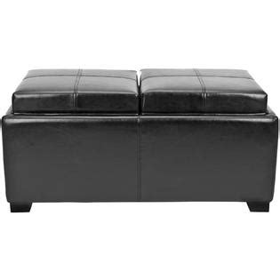 Safavieh Hudson Collection Harrison Single Tray Ottoman Home Furniture Living Room Safavieh Hudson Collection Harrison Tray Ottoman Home Furniture Living Room