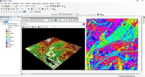 Lidar Tutorial Arcgis 10 | displaying lidar data in arcgis desktop