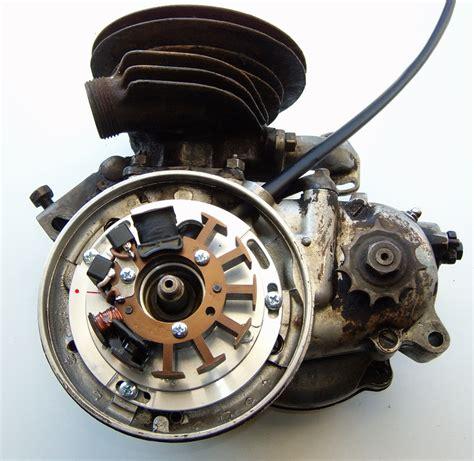 Sachs Motor 74ccm by Powerdynamo System F 252 R Motor Sachs 98 74ccm Und 98ccm
