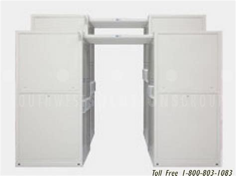 lto tape media storage cabinet pull out vertical shelving on overhead tracks for