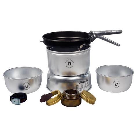 Trangia Pack 2 trangia ultra light stove kit with gas burner