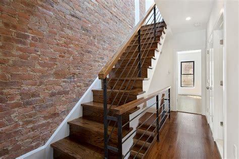 Townhouse Stairs Design Townhouse 1 Transitional Staircase New York By Cw Property