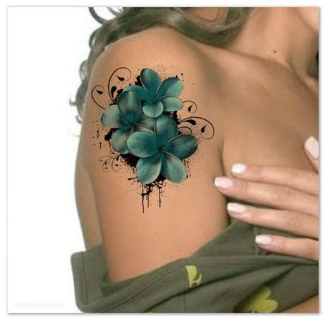 tattoo plumeria flower pictures to pin on pinterest
