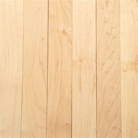 Maple Hardwood Flooring Bruce Maple 3 4 In Thick X 2 1 4 In Wide X
