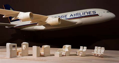 Paper Craft Singapore - awesome singapore airlines airbus a380 paper plane replica