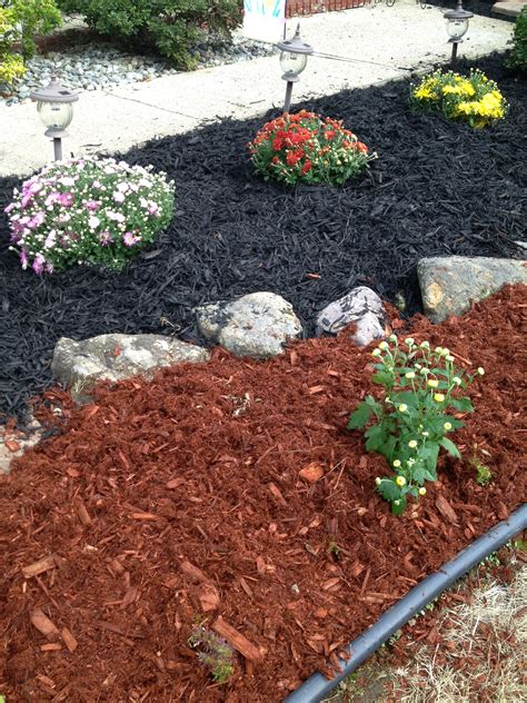 mulch colors different color mulch by ally g colored mulch ideas