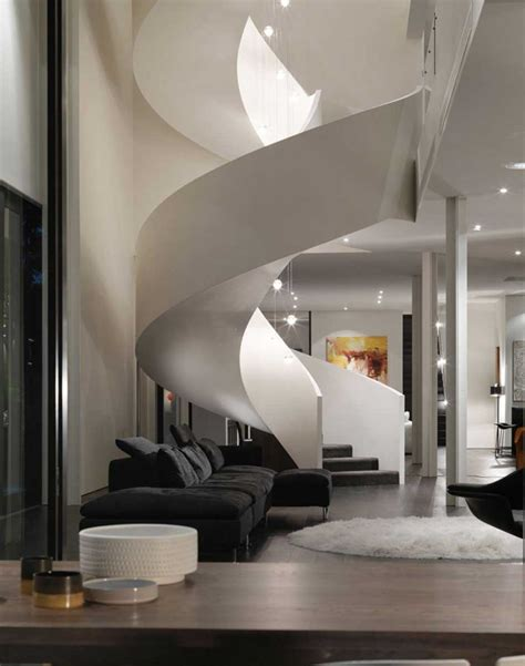black sofa contemporary living room lda architects architecture fascinating spiral staircase plans for you