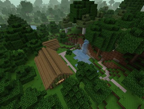 Minecraft Cabin In The Woods by A Cabin In The Woods Minecraft Project