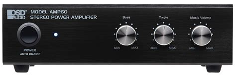 Small 2 Channel Home Home Audio Lifier Stereo 2 Channel
