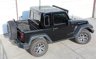 Jeep Jk 2 Door Hardtop Recruit 2 Door Jk Half Hardtop Kit Gr8tops