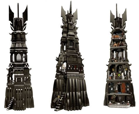 Lego The Lord Of The Rings 10237 Tower Of Orthanc 10237 lego lord of the rings tower of orthanc