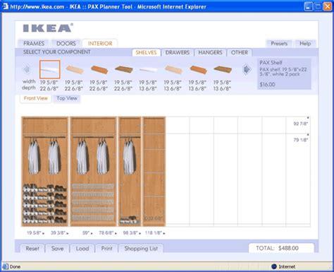 Ikea Pax Kleiderschrank Planer