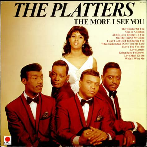Kaos Lp Only You Black the platters the more i see you uk vinyl lp album lp record 509523