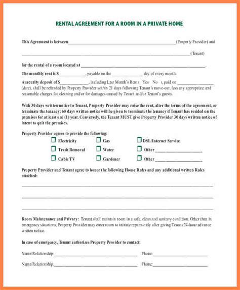 6  private landlord tenancy agreement template   Purchase