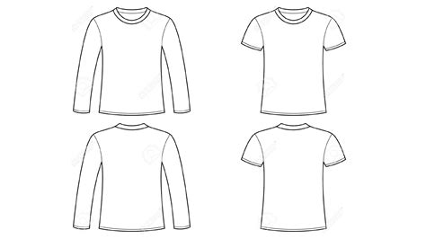 Blank Tshirt Template Clip Art With Long Sleeve Hd Wallpapers Wallpapers Download High Blank Sleeve T Shirt Template