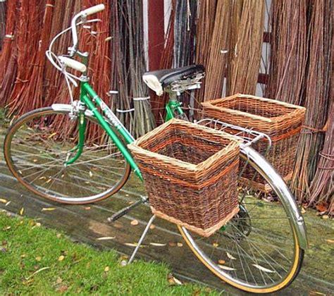 basket for bike bike baskets archives willow basketmakerwillow basketmaker