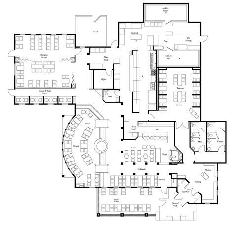 floor plan for a restaurant pasta restaurant blueprint kitchen pictures home design