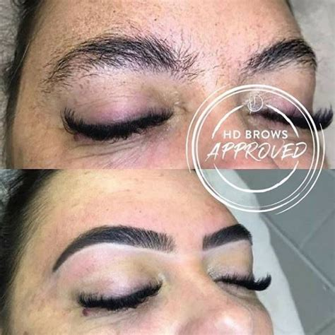 hd brows hd brows before afters hd brows