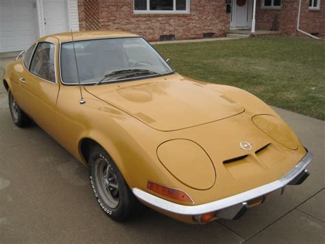 1973 Opel Gt For Sale by No Reserve Clean 1973 Opel Gt Bring A Trailer