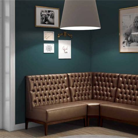 Upholstered Corner Banquette by Blues Upholstered Choice Banquette 100 B5 From Ultimate