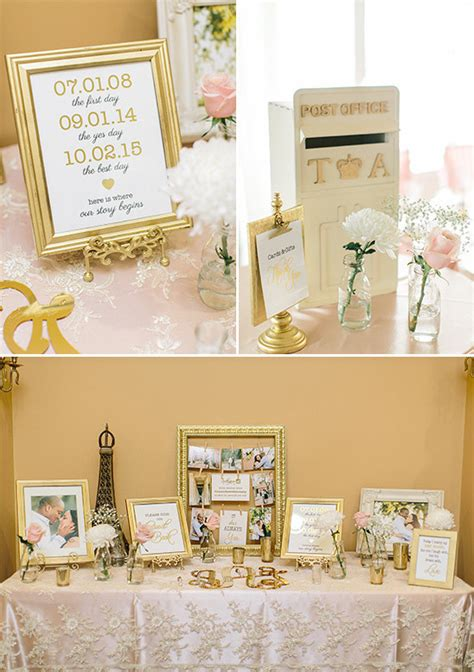 A Pink and Gold Reception You Wont Believe