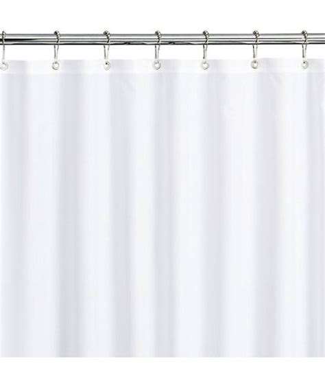 78 inch long shower curtain white 78 inches water long repellent fabric shower curtain