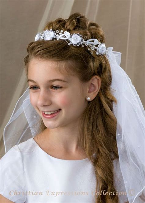 down hairstyles for communion 25 best ideas about first communion hair on pinterest
