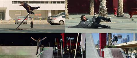 epic film dubai epic skate stunts in dubai we are blood video what s on