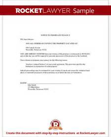 notice of eviction letter template resume builder