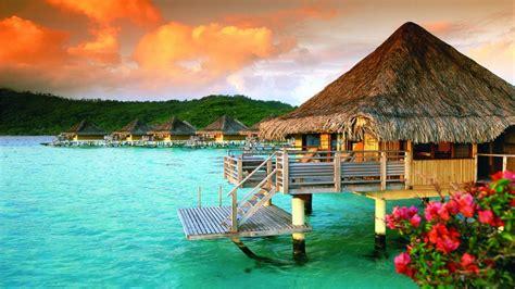 bungalows in bora bora tahiti st regis bora bora polynesia luxury