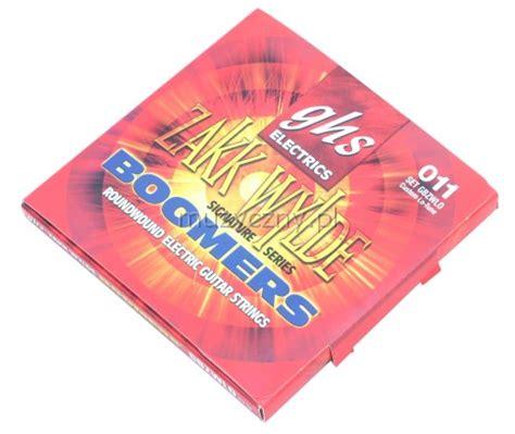 Senar Gitar Elektrik Ghs Boomers 011 ghs gbzwlo boomers struny do gitary elektrycznej 11 70
