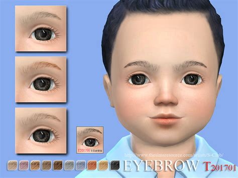 sims 4 toddler eyes cc s club wm ts4 eyebrows t 201701