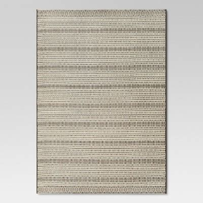 Pattern Stripe Tan Outdoor Rug 5 X7 Threshold Threshold Outdoor Rug