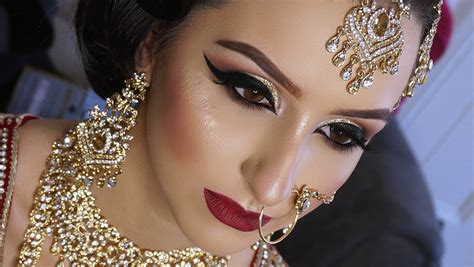 Makeup Bridal real asian bridal makeup traditional signature