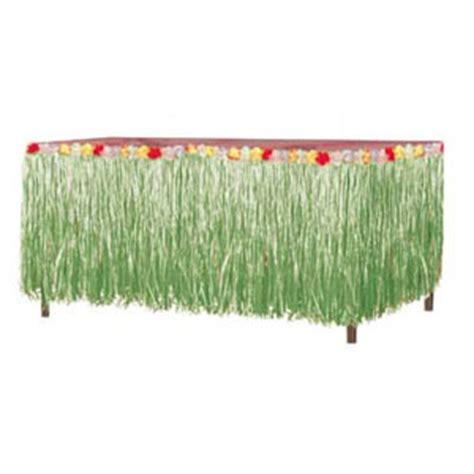 Grass Table Skirts by Bulk Luau Supplies Bulk Luau Tableskirts