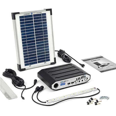 solar shed light kit solarhub 16