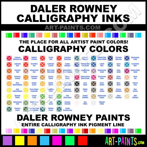 daler rowney calligraphy ink pigments and paint brands daler rowney paint brands calligraphy