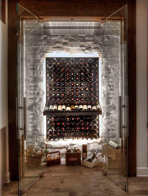 klima weinkeller glass enclosed wine cellars stact wine racks