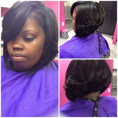 sew in bobs sew in bob hairstyles pinterest