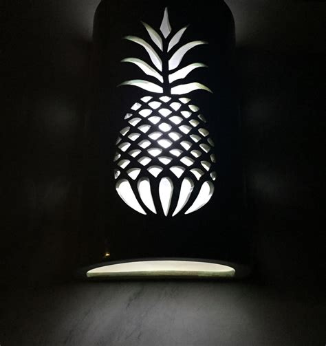 Pineapple Outdoor Light Fixtures Pineapple Outdoor Sconce Wall Sconce Porch Light Patio