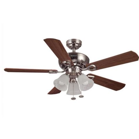 ceiling fan globes walmart 44 quot honeywell valiant ceiling fan brushed nickel