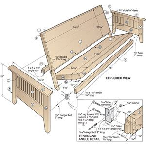 Free Futon Frame Plans by Futon Sofa Sleeper Build Virtualight