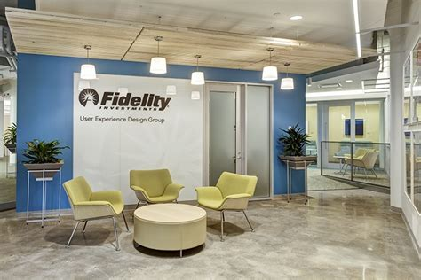 Fidelity Office by Fidelity Website Turner Construction Company